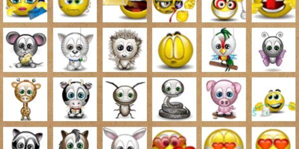 Retro MSN hangulatjelek, emojik