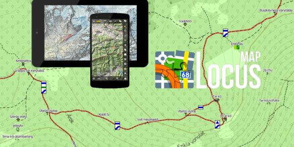 Locus Map – Magyar használati útmutató